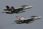 Talon.Kさんが、オシアナ海軍航空基地アポロソーセックフィールドで撮影したアメリカ海軍 F/A-18F Super Hornetの航空フォト(写真)
