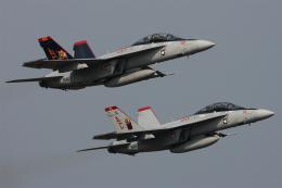 Talon.Kさんが、オシアナ海軍航空基地アポロソーセックフィールドで撮影したアメリカ海軍 F/A-18F Super Hornetの航空フォト(飛行機 写真・画像)