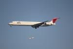 さもんほうさくさんが、羽田空港で撮影した日本航空 MD-90-30の航空フォト(写真)