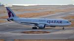 simokさんが、関西国際空港で撮影したカタール航空 A330-202の航空フォト(写真)