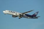 takoyanさんが、ロサンゼルス国際空港で撮影したラタム・エアラインズ・チリ 787-8 Dreamlinerの航空フォト(写真)