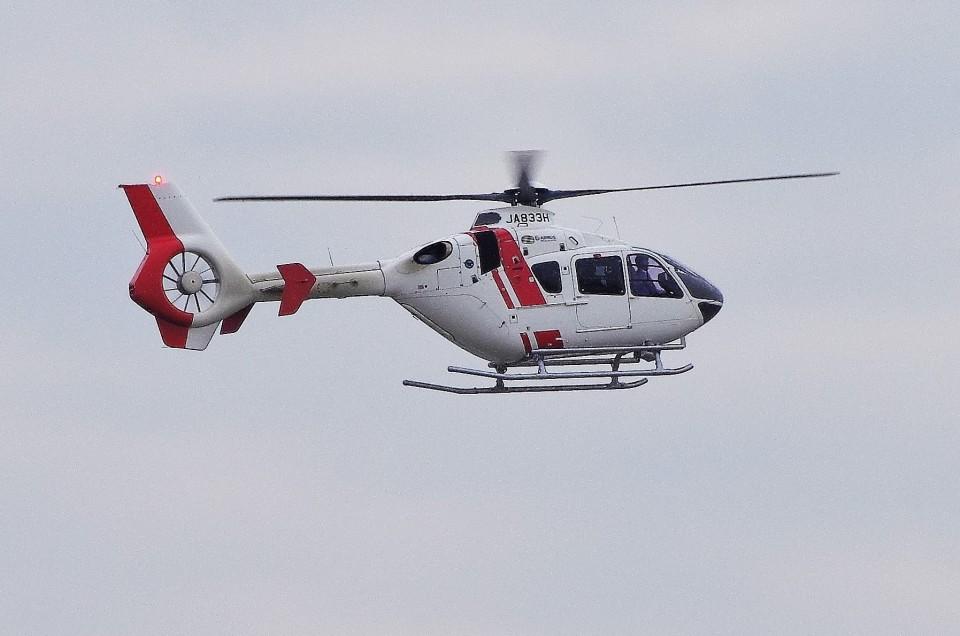 mild lifeさんの学校法人ヒラタ学園 航空事業本部 Airbus Helicopters H135 (JA833H) 航空フォト