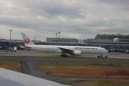 おがりょうさんが、羽田空港で撮影した日本航空 777-346/ERの航空フォト(飛行機 写真・画像)