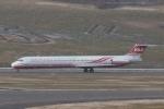 木人さんが、福島空港で撮影した遠東航空 MD-83 (DC-9-83)の航空フォト(写真)