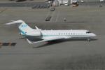 pringlesさんが、羽田空港で撮影したFubon Group BD-700-1A10 Global 6000の航空フォト(写真)