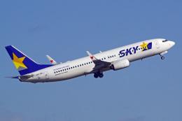 tkosadaさんが、羽田空港で撮影したスカイマーク 737-86Nの航空フォト(飛行機 写真・画像)