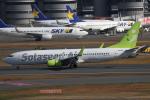 wingace752さんが、羽田空港で撮影したソラシド エア 737-86Nの航空フォト(写真)