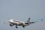 おがりょうさんが、福岡空港で撮影したシンガポール航空 A330-343Xの航空フォト(写真)