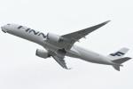 kuro2059さんが、関西国際空港で撮影したフィンエアー A350-941XWBの航空フォト(写真)