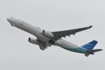 kuro2059さんが、関西国際空港で撮影したガルーダ・インドネシア航空 A330-343Eの航空フォト(写真)
