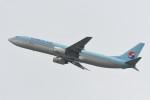 kuro2059さんが、関西国際空港で撮影した大韓航空 737-9B5の航空フォト(飛行機 写真・画像)