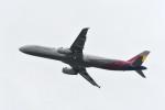 kuro2059さんが、関西国際空港で撮影したアシアナ航空 A321-231の航空フォト(写真)