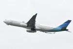 kuro2059さんが、関西国際空港で撮影したガルーダ・インドネシア航空 A330-343Xの航空フォト(写真)