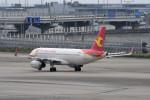 kuro2059さんが、関西国際空港で撮影した天津航空 A320-232の航空フォト(飛行機 写真・画像)