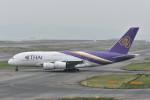 kuro2059さんが、関西国際空港で撮影したタイ国際航空 A380-841の航空フォト(写真)