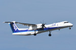 kuro2059さんが、中部国際空港で撮影したANAウイングス DHC-8-402Q Dash 8の航空フォト(写真)