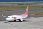 kuro2059さんが、中部国際空港で撮影したティーウェイ航空 737-86Jの航空フォト(飛行機 写真・画像)