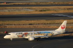 take_2014さんが、羽田空港で撮影したジェイ・エア ERJ-190-100(ERJ-190STD)の航空フォト(写真)