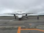 たまきちくんさんが、釧路空港で撮影したANAウイングス DHC-8-402Q Dash 8の航空フォト(写真)