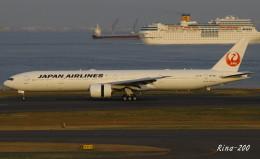 RINA-281さんが、羽田空港で撮影した日本航空 777-346/ERの航空フォト(飛行機 写真・画像)