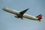 ハピネスさんが、関西国際空港で撮影したフィリピン航空 A321-231の航空フォト(写真)