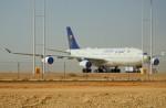 KAZKAZさんが、キング・ハーリド国際空港で撮影したサウジアラビア王国政府 A340-213Xの航空フォト(写真)