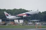 pringlesさんが、成田国際空港で撮影したマレーシア航空 737-8H6の航空フォト(写真)
