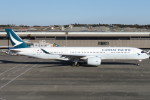 SFJ_capさんが、成田国際空港で撮影したキャセイパシフィック航空 A350-941XWBの航空フォト(写真)