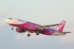 DONKEYさんが、宮崎空港で撮影したピーチ A320-214の航空フォト(写真)