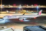 ストロベリーさんが、羽田空港で撮影したカタール航空 A350-1041の航空フォト(写真)