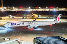 ストロベリーさんが、羽田空港で撮影したカタール航空 A350-1041の航空フォト(飛行機 写真・画像)