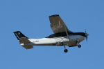 mogusaenさんが、調布飛行場で撮影した共立航空撮影 T206H Turbo Stationairの航空フォト(飛行機 写真・画像)