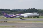 pringlesさんが、成田国際空港で撮影したタイ国際航空 A350-941XWBの航空フォト(写真)