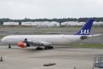 pringlesさんが、成田国際空港で撮影したスカンジナビア航空 A340-313Xの航空フォト(写真)