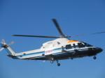 ランチパッドさんが、東京ヘリポートで撮影した朝日航洋 S-76Cの航空フォト(写真)
