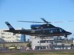 ランチパッドさんが、東京ヘリポートで撮影した警視庁 A109S Trekkerの航空フォト(写真)