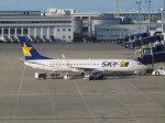 くまのんさんが、中部国際空港で撮影したスカイマーク 737-86Nの航空フォト(写真)