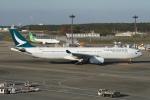 pringlesさんが、成田国際空港で撮影したキャセイパシフィック航空 A330-343Xの航空フォト(写真)