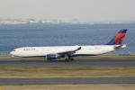 pringlesさんが、羽田空港で撮影したデルタ航空 A330-302の航空フォト(写真)