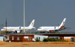 KAZKAZさんが、キング・ハーリド国際空港で撮影したスカイ・プライム A320-214X CJ Prestigeの航空フォト(飛行機 写真・画像)