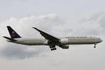 rjジジィさんが、ロンドン・ヒースロー空港で撮影したサウディア 777-368/ERの航空フォト(写真)