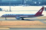 リョウさんが、羽田空港で撮影した上海航空 757-26Dの航空フォト(写真)