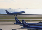 ふじいあきらさんが、羽田空港で撮影した全日空 777-281の航空フォト(飛行機 写真・画像)