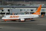 とりてつさんが、成田国際空港で撮影したチェジュ航空 737-8ASの航空フォト(写真)