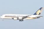 FLYING  HONU好きさんが、関西国際空港で撮影したシンガポール航空 A380-841の航空フォト(写真)