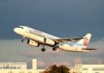 くれないさんが、徳島空港で撮影した香港ドラゴン航空 A320-232の航空フォト(飛行機 写真・画像)