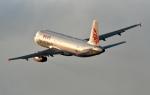 くれないさんが、徳島空港で撮影した香港ドラゴン航空 A320-232の航空フォト(写真)