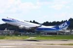 Kuuさんが、成田国際空港で撮影した日本貨物航空 747-4KZF/SCDの航空フォト(写真)