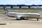 Kuuさんが、成田国際空港で撮影したエティハド航空 787-9の航空フォト(飛行機 写真・画像)