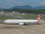 ガスパールさんが、福岡空港で撮影したキャセイドラゴン A330-343Xの航空フォト(写真)